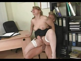 Mature Fuck In Office