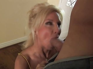 Sexy cougar milf with big tits fucks hard
