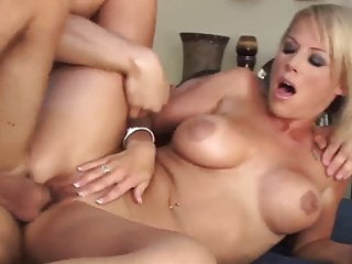 Sexy blonde milf cougar pay the debt (TOP MILF)