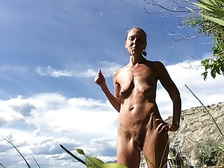 Saggy and Hairy Naturist