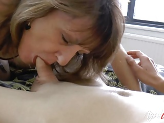 AgedLovE Shows Horny Mature with Handy Stud