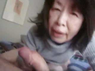 Mature Asian Bj CIM