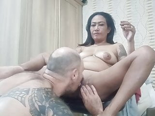Fucking mature Asian bitch slutty face short versio