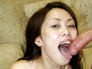 Japanese brunette, Hitomi Oishi had a mmf adventure with nei