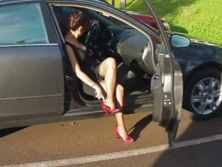 MILF Nylon Foot & Leg Tease 07