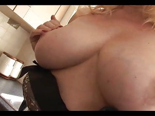 Gorgeous UK Mature Milf pleasuring herself in the kitchen.