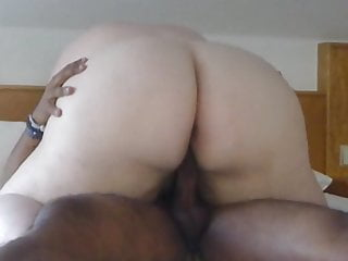 BBW huge ass riding me