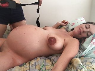 Pregnant women having fun 2
