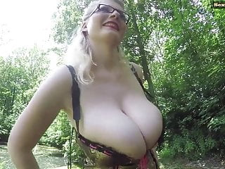 busty german pissing