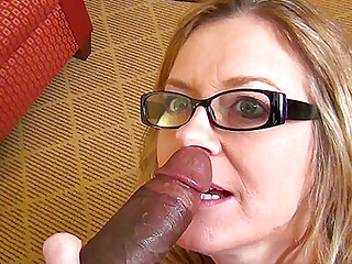 Cheating wife love sucking big black cock