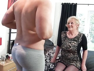 British old slut's cunt requires a new big cock every day