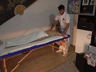 Hidden Camera In A Massage Parlor - Blonde Chick Gets Fucked