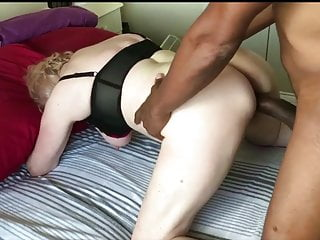 Married Mature German Hooks up with Young Black Boy. Cougar