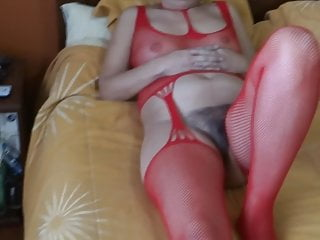 MY WIFE IS EXHIBITED IN LINGERIE - MI ESPOSA EN LENCERIA