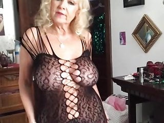Hot Youtuber Brenda Lee - No bra,no panties with sheer dress