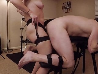 Male Sub being Fucked in Bondage
