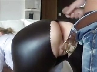 Twelve minutes of creampies in nylons