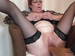 German Mature Epic Pussy fist