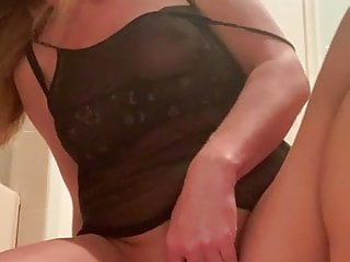 Milf playing with herself