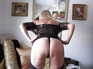 Hot Youtuber Brenda Lee - Boobs, panties and ass with sheer