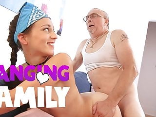 Banging Family - My Step-Grandfather is a Perv