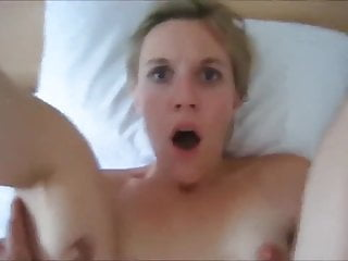 A CUTE BLONDE SURPRISED BY A PAINFUL ANAL