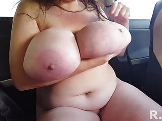a mother with giant tits