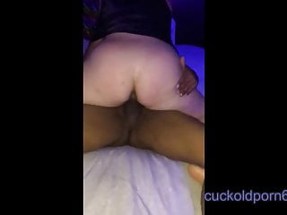 Whiteboy Cuck watches his Wife take Black Dick