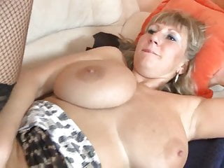 Busty mature with young