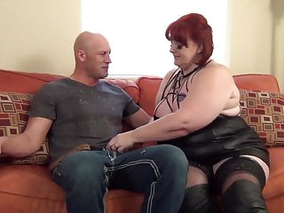 Redhead BBW MILF Pounded By A Hard Cock