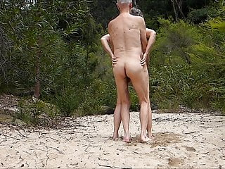 old couple beach fuck