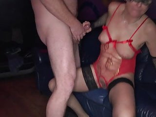 Real EURO public amateur gang-bang party