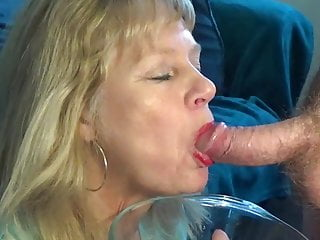 Piss and cum for mature