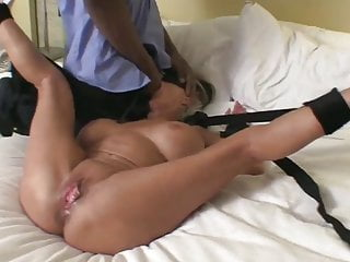 Mature Wife Enjoys Risky Fuck with Two BBCs