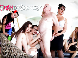 Perverted Oldies Orgy, part 2