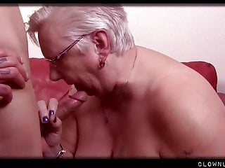 Big BBW Granny Gets Pussy Licked and Fucked
