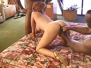 Kinky Mature with 2 Black Men in Hotel