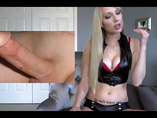 Cute Domme Makes You Worship Cock