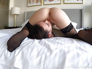 Hot Facesitting Ended For Stepsister In A Continual Orgasm