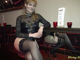 The cum queen returns to the club and gets used by 20 guys