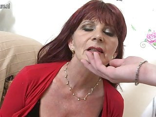 Naughty mature mom sucks your cock